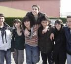 Lucas,Pau,Richard,Guillaume,Helvia,Simon y yo! ~>France 08