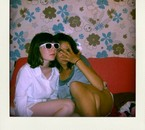 Leila and I.
