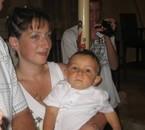 Le baptême du petit Mathys avec sa maman Karine
