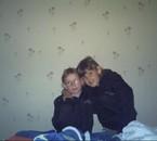 mes deux filles qui squat mon lit