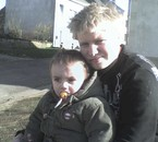 moi et mon beau petit frere