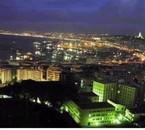 Alger vue de nuit