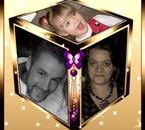 mon fils wilfried et betty et princesse carol- ann