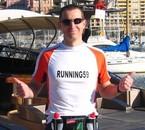 Moi au marathon de MONACO