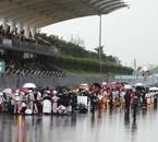 Le Grand Prix de Sepang 2009, stoppé à cause de la pluie