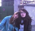 Clara, et moi. <3