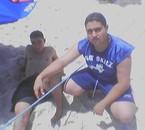 a la plage le 30/06/2007