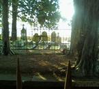 le magnifique cimetière de Guéret