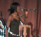 sur scène