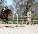 Séance saut avec Louloute <3
