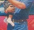 hasni avec son fils abdellah