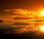 Magnifique ce coucher de soleil !!!