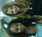 Adeline et  Alisson mes amies