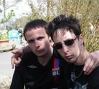 moi (à gauche )et jeff
