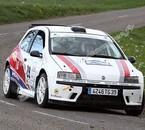 1er rallye pour Sylvain avec la Punto