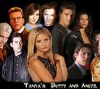 Les personnages principaux de Buffy et Angel .