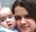 Ma fille Kelly et moi.