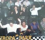 Europapark' avec l' équipe  ♥