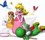 Oups,Peach a raté le papillon et a eu Yoshi a la place lol