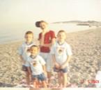 mes 4 garçons a la mer