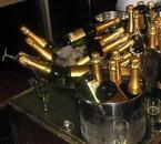 les bouteille de champagne de mèrèd