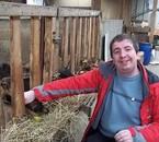 ça c'est moi avec la chèvre