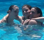 Ju', moi & Lucie . J'vous aimes les copines :)