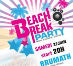 Beach Break party - 27juin @ plan d'eau Brumath