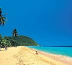 La plage aux Antilles