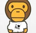 beby milo by abathing ape