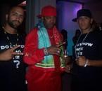 Kobe, Busta Rhymes and DJ KING SAMS