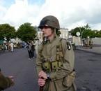 au départ de la marche à carantan 7 juin 2009