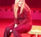 Souvenir du 16 octobre 2008 au Heysel avec la divine LARA...