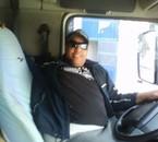 Volvo de l'intérieur la cbine de camion......