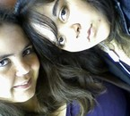 moi et ma soeur kan on est parti voir la concert d'amine...