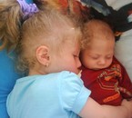 mes deux anges qui dors