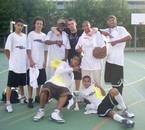 vainqueur du tournoi d'orange2009 cadet avc 0défaite