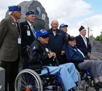 Vétérans de la 29ème à Vire, colline 203