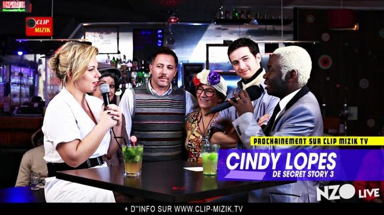 Cindy Lopes de Secret Story 3 dans quelques heures sur www.clip-mizik.tv