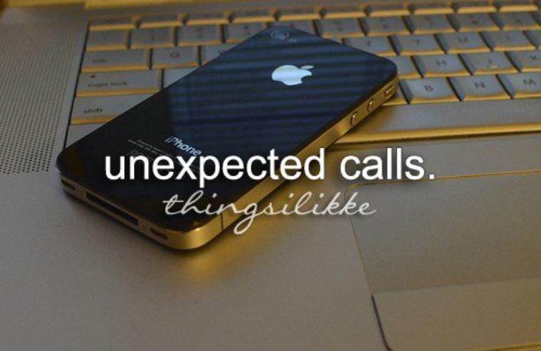 Chapitre 3: Unexpected call.