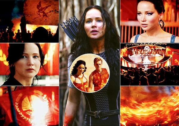 Mes montages Catching Fire