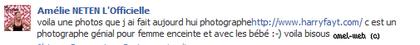 Nouveau Photoshoot D'Amélie Enceinte :D ♥