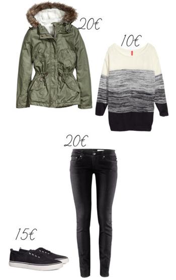 Tenue d'automne / hivers H&M