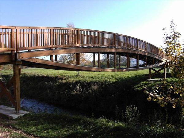 Histoire des ponts en bois