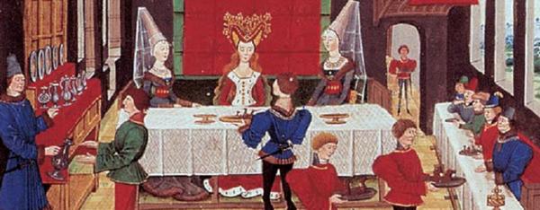 Moyen Age ~~ histoire de la gastronomie