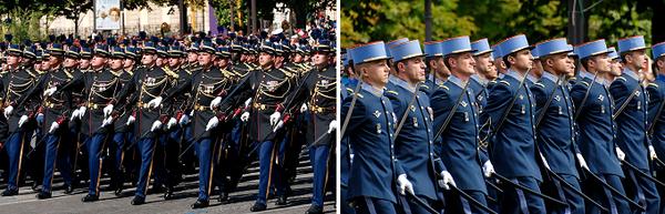 Défilé militaire du 14 Juillet