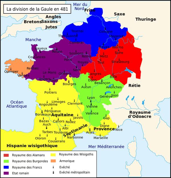 Les Rois de France _ _ Clovis Ier