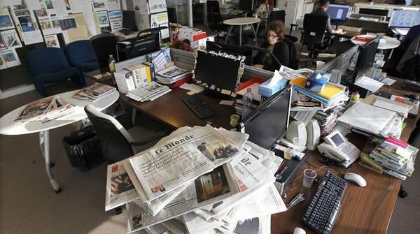 Journaliste de presse écrite