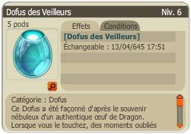 XP DD / Vortex / Dofus des Veilleurs / Éliotrope