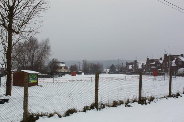 Le Club Canin de Watten sous plusieurs couches de neige... les toutous sont restés à la maison, les week-end !